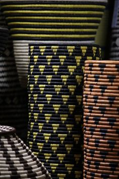 Triangular trend: Various vessels by Design Afrika.