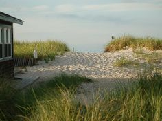 Quiet time on East Sandwich Beach on Cape Cod. So many memories here.