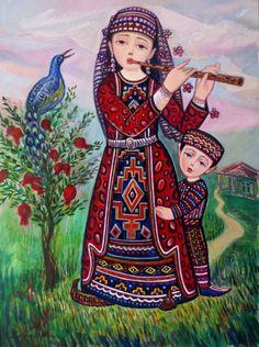 2013 Wistfulness (Կարոտ) by Sevada Grigoryan (Armenian, b1959)