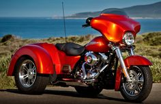 Just what I need a harley-davidson-trike!
