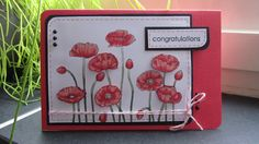 pleasent poppies, stampin up