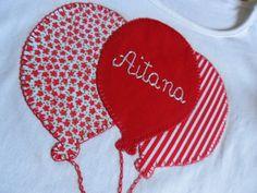 la sastrecilla valiente: camiseta globos