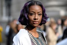 Singer Indira Skyers, also known as Justine Skye arrival for Julien MacDonald London Fashion Week Ready To Wear Day Two Febuary Saturday 18th 2017.