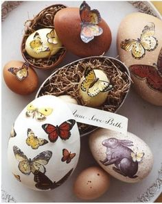 Lovely Ostara Eggs
