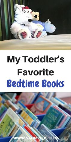 Our toddler's bedtime routine always includes reading at least two books. These are, I believe, the best toddler bedtime books. | www.sahmplus.com