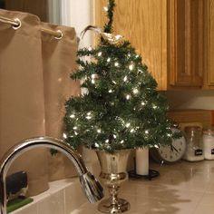 Kitchen Christmas tree 2012