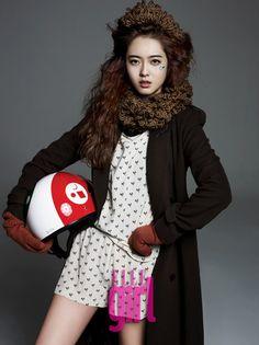 Go Ara || Elle Girl Korea || January 2012
