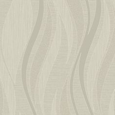New-Grandeco-Textured-Wave-Drift-Taupe-Silver-Glitter-Wallpaper-A13603