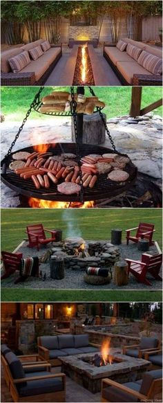 100+ Awesome backyard Fire Pits Ideas 21