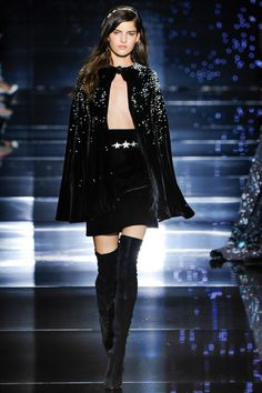 Black Velvet Zuhair Murad Fall/Winter 2015-2016 Fashion Show