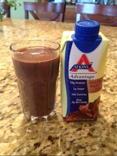 Atkins Advantage Dark Chocolate Royale Shake Review - News - Bubblews