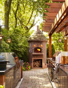 Nice outside kitchen , from Iryna