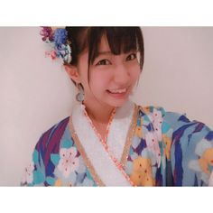 着物みたいって思ってお正月にって思ったけど もうお正月じゃない むしろ着物っぽくもない #お正月 #着物... #Team8 #AKB48 #Instagram #InstaUpdate