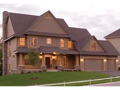 Natchez Luxury Craftsman Home from houseplansandmore.com
