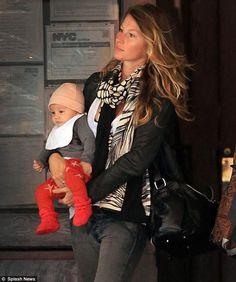 gisele with baby vivian