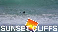 SUNSET CLIFFS SURFING - November 20th 2016