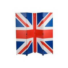 Ethos Cool Britannia Union Jack Canvas Screen