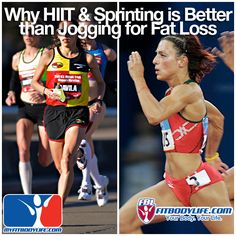 For Fat Loss: Sprinting is Better than Jogging - My Fit Body Life Online Fitness Coaching and Wellness Program, Online Personal Training