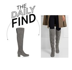 """Daily Find: Sam Edelman Over-the-Knee Boots"" by polyvore-editorial ❤ liked on Polyvore featuring Sam Edelman and DailyFind"