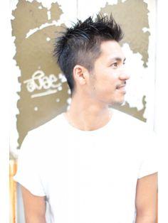 クラス アオヤマ(CLASS AOYAMA) [CLASS AOYAMA] メンズ 髪型 ソフトモヒカン風2ブロックヘア