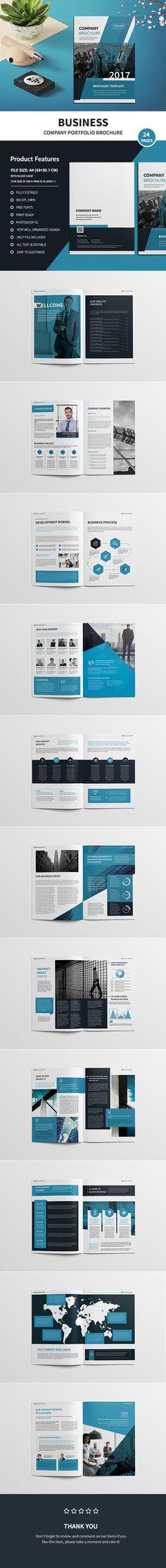 Company Profile Company profile, Photoshop and Profile - company profile