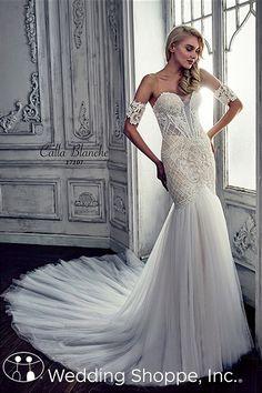 Calla Blanche Renita ⏐ Lace Bridal Gown