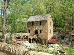 Old Mill, North Little Rock, AR. i've been here. such a great place!
