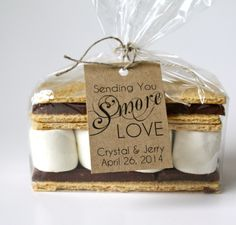 Smore Wedding Favor Tag Elegant Personalized by TheLovebirdPress – Sarah Barth This is so Us! Smore Wedding Favor Tag Elegant Personalized by TheLovebirdPress This is so Us! Smore Wedding Favor Tag Elegant Personalized by TheLovebirdPress Wedding Favor Labels, Creative Wedding Favors, Inexpensive Wedding Favors, Cheap Favors, Wedding Favors For Guests, Wedding Favor Boxes, Personalized Wedding Favors, Wedding Invitations, Wedding Gifts