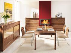 Esszimmer | Esstisch | Sideboard | Kommode | Holz | in verschiedenen Holzarten erhältlich - bei Möbel Morschett