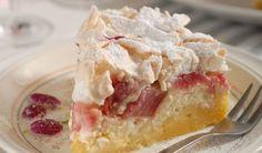 Snehová torta s rebarborou: Poriadne ju pocukrujte