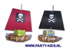 traktaties - piratenboot of piratenvlot zelf maken