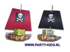 traktaties - piratenboot of piratenvlot zelf maken