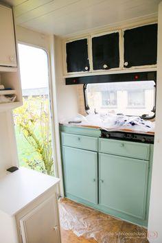 die besten 25 wohnwagen renovieren ideen auf pinterest wohnwagen renovierung. Black Bedroom Furniture Sets. Home Design Ideas