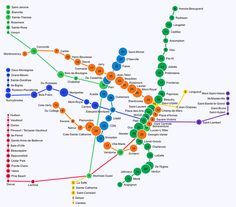 Visualising walksheds: transit useability | guardian.co.uk