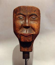 Old Ventriloquist Dummy Head