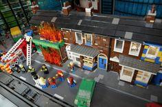 Coronation Street's Rovers Return fire recreated at Legoland