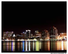 Halifax City Night Lights by Tremulent :)(: