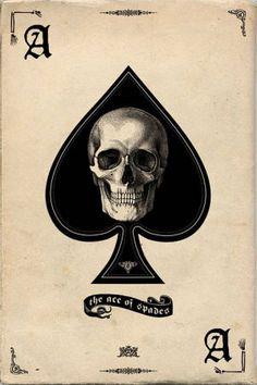Pyramid America Ace of Spades Retro Art Print Poster Tattoo Motive, Bild Tattoos, Neue Tattoos, Body Art Tattoos, Ace Of Spades Tattoo, Pubs In London, La Santa Muerte Tattoo, Corvo Tattoo, Tattoo Ideas