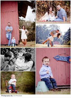 Family Picture Ideas: Barn Beautiful