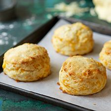 Savory Cheddar Cheese Biscuits: King Arthur Flour Add about 1/2 c more cream and 2 T sugar and leave out the cheese
