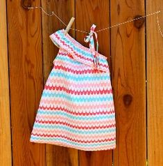 Link to cute toddler dress how to...scaling this pattern down for smaller than 2t! :)