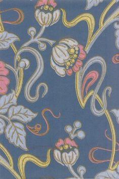 Jugend-kausi wall paper Art Nouveau, Art Deco, Victorian, Textiles, Interior Design, Pattern, Painting, Wallpapers, Interiors