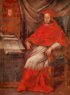 Cardinal King Henry IX of Portugal Grand Inquisitor, Catholic Cardinals, History Of Portugal, Royal Monarchy, Catholic Religion, Image Categories, King Henry, Knights Templar, Roman Catholic