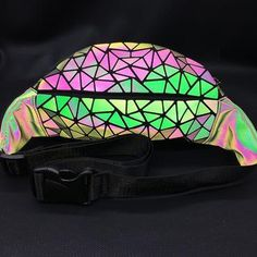 Give them something to talk about with this unique waist bag that lights up in the dark. Featuring a geometric pattern, zipper closure and inside pocket. Choose from 2 styles. From our unique boutique. Concert Tickets, One Bag, Trendy Clothes For Women, Fanny Pack, Bag Making, Pu Leather, Crossbody Bag, Shoulder Bag, Boutique