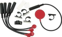 "Pulse TK-5 Acoustic Trigger 5-Piece Set by Pulse. $49.99. The 5-piece Pulse TK-5 Acoustic Trigger Kit has 4 industry-standard DR-1 removable Red Hots and one KD-1 removable kick drum trigger. Rated at 6.4kHz for ultra sensitivity, the rugged, reliable DR-1 has long been the pro's choice for adding electronic punch. The KD-1 features a larger-diameter sensor naturally tuned to the bass drum's dynamic range while the 14"" cable, larger adhesive strip, and standard ad..."