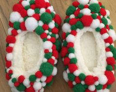 Items similar to OOh LaLa Sexy Ugly Tacky  Christmas Sweater Party Shoes on Etsy