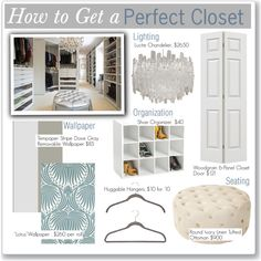 """""""How To Get a Perfect Closet"""" by kusja on Polyvore"""