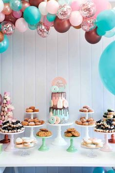 Donuts, Milk, & Cookies Birthday Party on Kara's Party Ideas | KarasPartyIdeas.com (18)