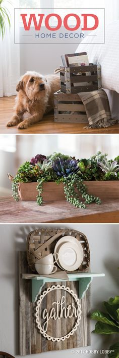 Explore the DIY possibilities with pre-made wood pieces!