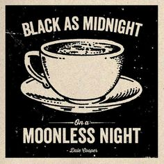 Black as midnight on a moonless night.